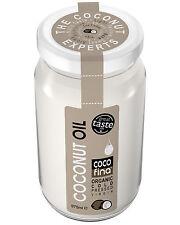 Organic pure raw 100 % coconut oil 975ml Cold pressed Virgin unrefined