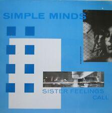 SIMPLE MINDS - SISTER FEELINGS CALL - LP