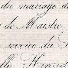 François De Maistre Henriette Juchault De La Moriciere 1869