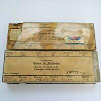 Vintage Clock Parts - Keys For Travelling Clocks, Nuts for Alarm Clocks (PB32)