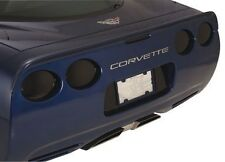 C5 Corvette Tinted Tail Light Blackout Covers - 5pc Taillight Acrylic Blackouts
