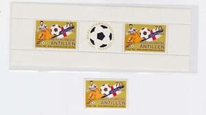 netherlands antilles 1982 world cup,set MNH Sc B198,B198a      l1357