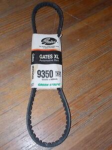 NOS Gates Belt XL Green Stripe Made In USA 91 BMW 76-82 Chevrolet REO Ford 9350