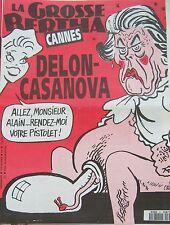 LA GROSSE BERTHA N° 67 de MAI 1992 CABU CANNES DELON CASANOVA