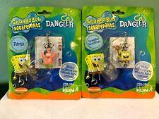 Spongebob Squarepants - Spongebob and Patrick Danglers by Basic Fun Moc!