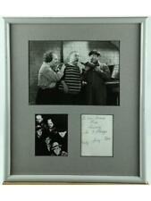 """""""Three Stooges"""" Framed Photo With Signatures Lot 144"""