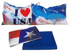 Lenzuola Bassetti Natura USA Flag matrimoniale