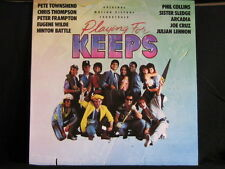 Playing For Keeps. Film Soundtrack. 33 lp Record Album. 1986 Phil Collins