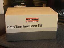 Vintage Computer ENTREX NIXDORF SIEMENS Rare Collectible Data Terminal Care Kit