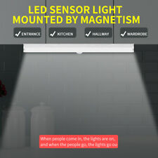 Warm LED Rechargeable Infrared Induction Lamp Motion Sensor Night Light 21cm