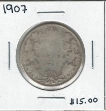 Canada 1907 50 Cent Silver