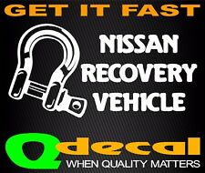 NISSAN Recovery Vinyl Decal Sticker Ute 4x4 Funny Jeep Landcruiser Hilux Pajero