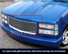 For 94-99 GMC Sierra C/K Pickup/Suburban/Yukon Billet Grille Grill Insert