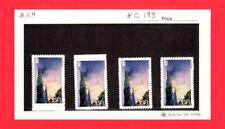 SCOTT # C 133 Niagara Falls Air Mail United States MNH Lot of 4 Single Stamps