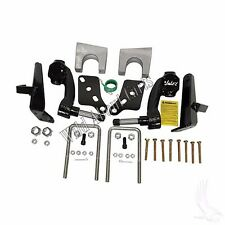 """Jake's 6"""" Drop Spindle Lift Kit Club Car DS Golf Cart with Metal Dust Covers"""