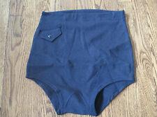 """ww2 usn,vintage bathing suit,""""charles atlas""""type,100% wool, new old stock,sz Lg"""