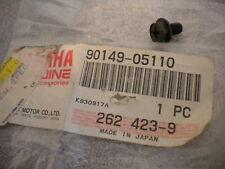 NOS Yamaha OEM Oil Filter Screw 77-01 YFM BW FJ SRX TT XT SR 90149-05110