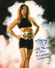 Kathy Long Signed 11x14 Photo PSA/DNA COA World Champ Kickboxing Autograph UFC 1