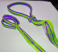 Traditional Mongkol&Prajiat Set(Muay Thai/Twins/Topking)Lights Green With Purple