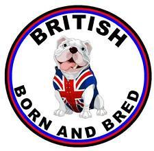 BRITISH BORN & BRED - FUN CAR TAX DISC HOLDER - REUSABLE - BRAND NEW - GIFT
