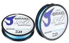Daiwa J-Braid X4 Island Blue Line - 300 yards