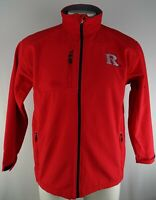 Rutgers Scarlet Knights NCAA Pro Edge Men's Red Soft Shell Full-Zip Jacket
