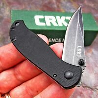 CRKT Pazoda 8Cr14MoV Blade Black G10 Small Framelock Folding EDC Pocket Knife