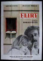 M180 Manifesto 4F Flirt Monica Vitti Roberto Russisch Francesco De Gergori