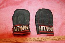 Used Hitman Punching or Boxing Gloves size Large Spilt Leather