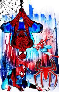 Spiderman Marvel Superhero 11 x 17 High Quality Poster