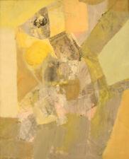 Hans Osswald. Swedish artist. Acrylic on paper. Dated 1962