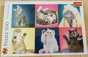 Kittens 500 Piece Jigsaw Puzzle NEW Cats Playful Cute Fun Beautiful FASTPOST