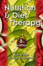 Thomson Nutrition & Diet Therapy 8th Edition (2003) VG R6-S15-2D