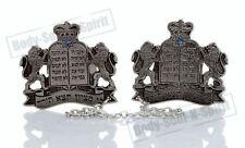 Attaches de Talit argentées COURONNE DE TORAH acessoires judaiques Israël cadeau