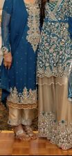 Indian Pakistani Salwar Kameez Party Wear Bridal Dress