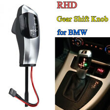 For BMW E81 E82 E84 E87 E88 Modified LED RHD Auto Gear Shift Knob Shifter Lever