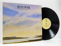 ALISTAIR ANDERSON steel skies LP EX/VG 12TS427 vinyl album, uk 1982, folk, topic