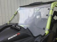 "A&S Can AM Maverick Max 1000r 3/16 "" POLYCARBONATE FULL Windshield 2013-2018"