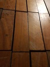 Reclaimed Hard Wood Parquet Flooring