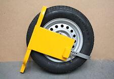 Radkralle Parkkralle Felgenkralle für PKW Wohnwagen Anhänger Diebstahlschutz