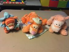 Lot of 3 Baby Tiggers Plush