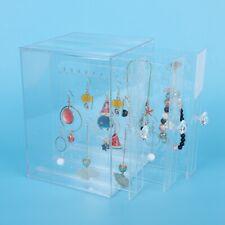 Acrylic Earring Ear Stud Shelf Rack Bracelet Storage Case Jewelry Display Stand