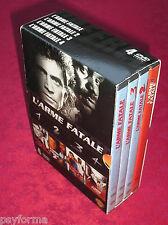 Coffret 4 DVD intégrale L' ARME FATALE / Mel Gibson / comme neuf !!