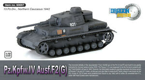 Dragon Armor Panzer Pz.Kpfw.IV Ausf.F2 Northern Caucasus 1942 1:72 Scale 60697