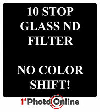 4x4 10 Stop ND1000 3.0 Glass 100x100mm Filter Hard Case same as Lee Big Stopper