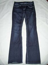 Womens Baker Street Jeans Size 5 Thick Stitch BLING Flap Pockets x 33