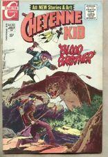 Cheyenne Kid #85-1971 fn- 5.5 Charlton Western Sanho Kim Joe Gill