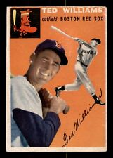 TED WILLIAMS  54 TOPPS 1954 NO 1 VGEX+ 21385
