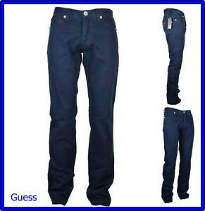 pantaloni jeans guess da donna a vita alta gamba dritta estivi zampa bootcut 44