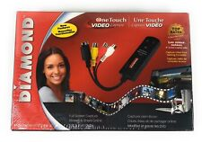 Diamond One Touch Video Capture VC500 USB 2.0 Capture Stream & Share Burn DVDs